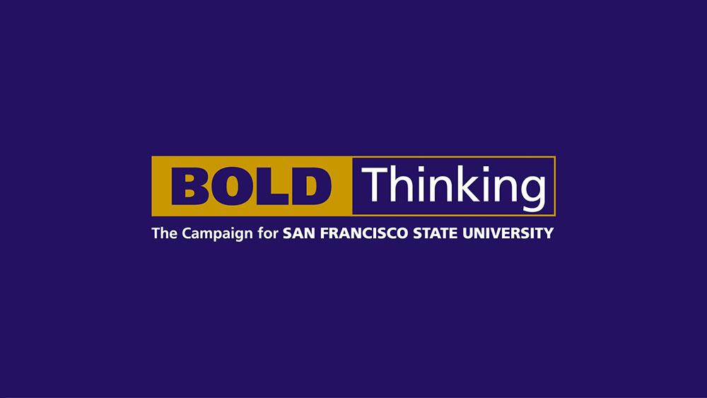 SFSU Bold Thinking